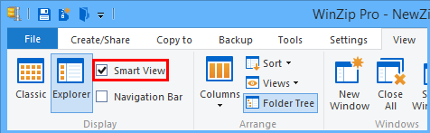 Uncheck Smart View in the View tab