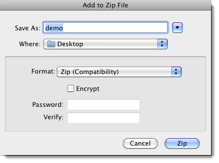 how to open zip on mac