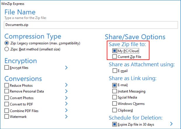 winzip free download for windows xp latest version