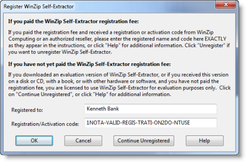 Registration code for winzip 17 how to register winzip software with a alberta queens printer
