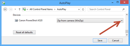 AutoPlay Control Panel