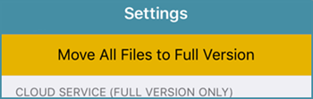 Tap Move All Files to Full Version in Settings