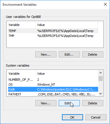 The PATH environment variable - WinZip - Knowledgebase