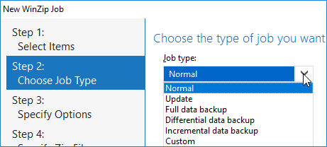 Backup types and strategy examples - WinZip - Knowledgebase